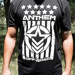 Stars and Stripes Black & White Shirt