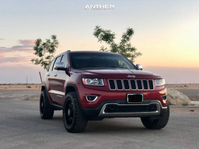 """2014 Jeep Grand Cherokee - 20x9 0mm - Anthem Off-Road Commander - Suspension Lift 2.5"""" - 275/55R20"""