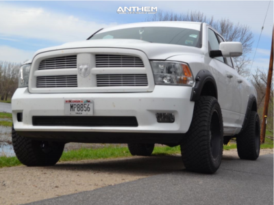"2012 Ram 1500 - 20x10 -18mm - Anthem Off-Road Avenger - Stock Suspension - 33"" x 12.5"""