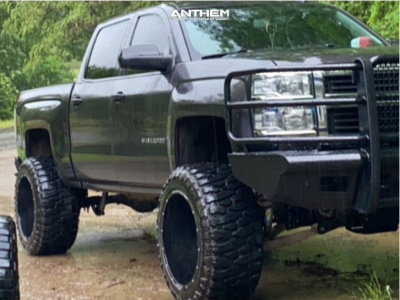 "2014 Chevrolet Silverado 1500 - 22x14 -76mm - Anthem Off-Road Equalizer - Suspension Lift 7.5"" - 375/45R22"