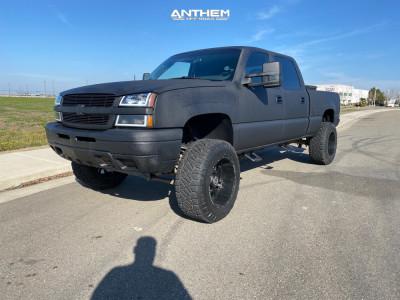 "2005 Chevrolet Silverado 1500 HD - 20x12 -44mm - Anthem Off-Road Enforcer - Suspension Lift 6"" - 35"" x 12.5"""