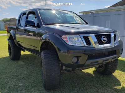"2012 Nissan Frontier - 20x12 -44mm - Anthem Off-Road Instigator - Suspension Lift 6"" - 325/60R20"