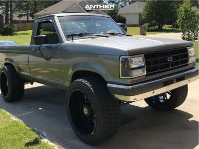 "1989 Ford Ranger - 22x12 -44mm - Anthem Off-Road Instigator - Suspension Lift 4"" - 33"" x 12.5"""