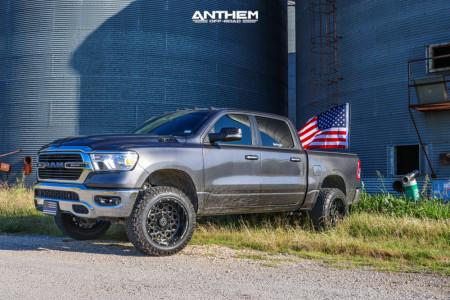 "2019 Ram 1500 - 20x12 -44mm - Anthem Off-Road Avenger - Suspension Lift 3.5"" - 33"" x 12.5"""
