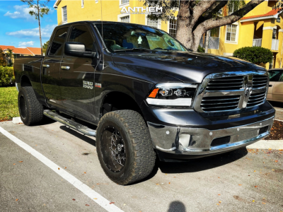 "2015 Ram 1500 - 20x12 -51mm - Anthem Off-Road Avenger - Suspension Lift 6"" - 35"" x 12.5"""
