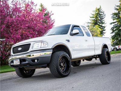 2002 Ford F-150 - 20x12 -44mm - Anthem Off-Road Avenger - Stock Suspension - 305/50R20
