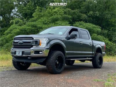 "2019 Ford F-150 - 20x12 -44mm - Anthem Off-Road Instigator - Suspension Lift 6"" - 35"" x 12.5"""