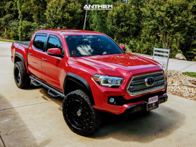 2016 Toyota Tacoma - 20x10 -18mm - Anthem Off-Road Avenger - Leveling Kit - 275/55R20