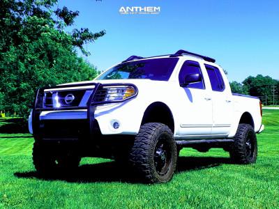 "2005 Nissan Frontier - 18x9 0mm - Anthem Off-Road Commander - Suspension Lift 8"" - 285/75R18"