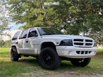 """1998 Dodge Durango - 18x9 12mm - Anthem Off-Road Instigator - Suspension Lift 3"""" - 275/65R18"""
