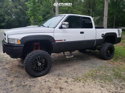 """1997 Dodge Ram 1500 - 20x10 -24mm - Anthem Off-Road Equalizer - Suspension Lift 8"""" - 35"""" x 12.5"""""""