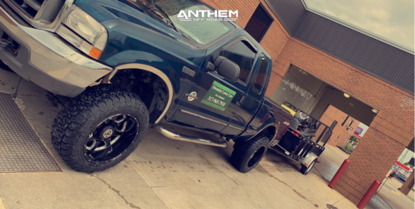 """1999 Ford F-250 Super Duty - 20x12 -43mm - Anthem Off-Road Commander - Stock Suspension - 33"""" x 12.5"""""""