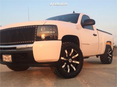 "2009 Chevrolet Silverado 1500 - 20x9 -12mm - Anthem Off-Road Defender - Leveling Kit - 33"" x 12.5"""