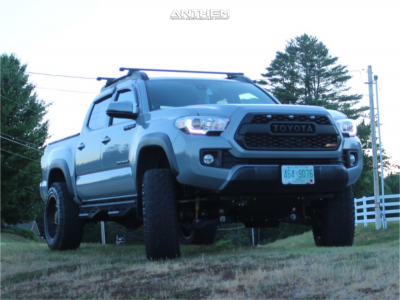 """2019 Toyota Tacoma - 20x10 -24mm - Anthem Off-Road Equalizer - Suspension Lift 4"""" - 33"""" x 12.5"""""""