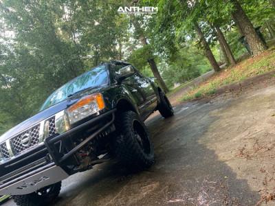 """2008 Nissan Titan - 20x10 -24mm - Anthem Off-Road Equalizer - Leveling Kit - 33"""" x 12.5"""""""