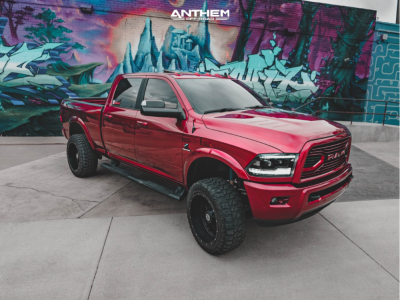 "2018 Ram 2500 - 22x12 -44mm - Anthem Off-Road Instigator - Leveling Kit - 35"" x 12.5"""