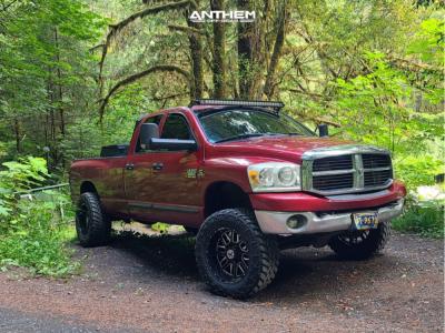 "2007 Dodge Ram 2500 - 20x10 -24mm - Anthem Off-Road Gunner - Suspension Lift 3.5"" - 35"" x 12.5"""