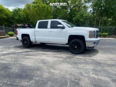 2015 Chevrolet Silverado 1500 - 18x9 -12mm - Anthem Off-Road Intimidator - Leveling Kit - 285/65R18