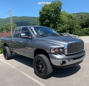 """2005 Dodge Ram 2500 - 20x9 -12mm - Anthem Off-Road Enforcer - Leveling Kit - 35"""" x 12.5"""""""