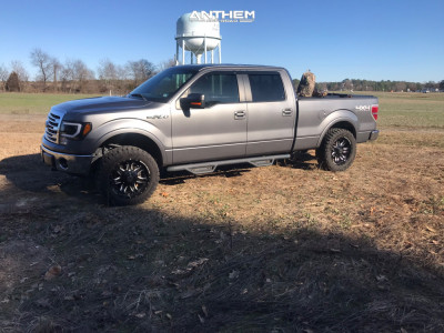 """2013 Ford F-150 - 20x9 0mm - Anthem Off-Road Aviator - Leveling Kit - 33"""" x 12.5"""""""