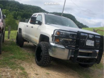 "2019 Chevrolet Silverado 2500 HD - 20x12 -44mm - Anthem Off-Road Equalizer - Suspension Lift 3.5"" - 33"" x 12.5"""