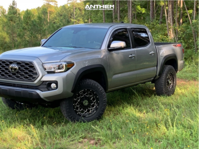 2020 Toyota Tacoma - 17x9 0mm - Anthem Off-Road Avenger - Stock Suspension - 265/70R17