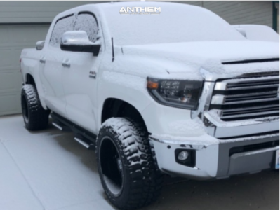 "2019 Toyota Tundra - 20x12 -44mm - Anthem Off-Road Equalizer - Suspension Lift 4"" - 33"" x 12.5"""