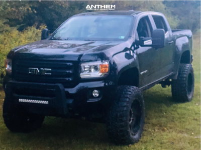 """2019 GMC Canyon - 20x10 -24mm - Anthem Off-Road Equalizer - Suspension Lift 8"""" - 35"""" x 12.5"""""""