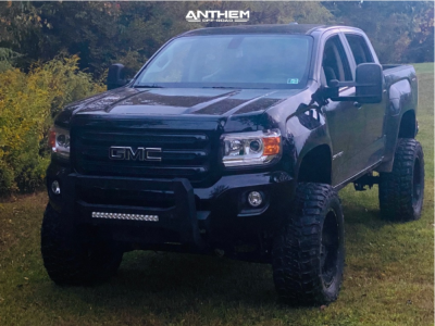 """2019 GMC Canyon - 20x10 -24mm - Anthem Off-Road Equalizer - Suspension Lift 6"""" & Body 3"""" - 35"""" x 12.5"""""""