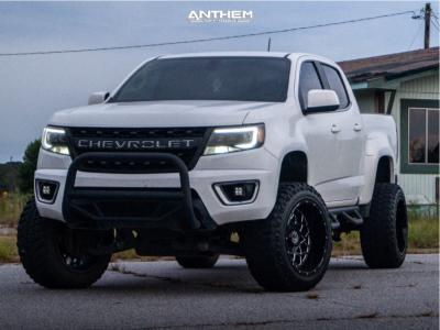 "2016 Chevrolet Colorado - 20x12 -44mm - Anthem Off-Road Avenger - Suspension Lift 6"" - 33"" x 12.5"""