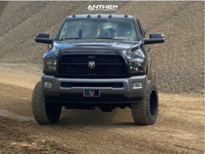 "2010 Dodge Ram 2500 - 20x12 -44mm - Anthem Off-Road Avenger - Suspension Lift 5"" - 35"" x 12.5"""