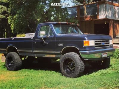 "1991 Ford F-150 - 20x12 -44mm - Anthem Off-Road Instigator - Suspension Lift 6"" - 35"" x 12.5"""