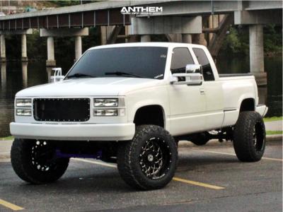 "1997 Chevrolet K1500 - 20x12 -44mm - Anthem Off-Road Avenger - Suspension Lift 6"" - 35"" x 12.5"""