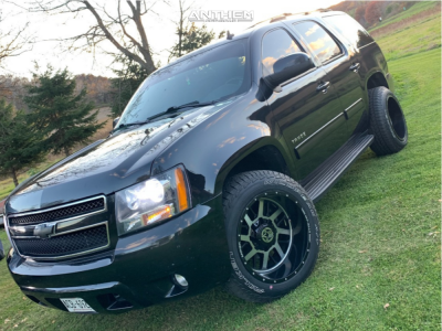 "2010 Chevrolet Tahoe - 20x12 -44mm - Anthem Off-Road Gunner - Stock Suspension - 31"" x 10.5"""