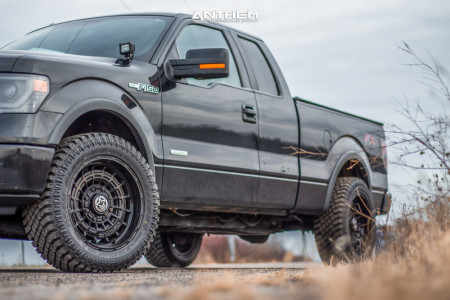 "2014 Ford F-150 - 20x10 -18mm - Anthem Off-Road Viper - Stock Suspension - 33"" x 12.5"""