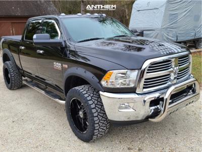 2018 Ram 2500 - 20x10 -24mm - Anthem Off-Road Equalizer - Stock Suspension - 305/55R20