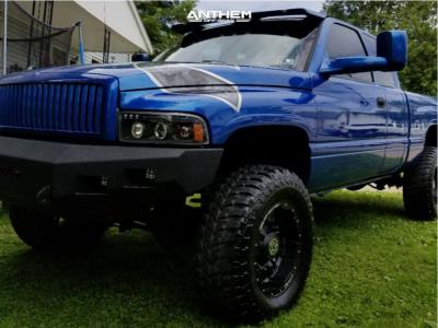 """1999 Dodge Ram 2500 - 18x10 -24mm - Anthem Off-Road Equalizer - Leveling Kit - 35"""" x 12.5"""""""