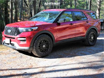 "2020 Ford Explorer - 20x9 0mm - Anthem Off-Road Avenger - Stock Suspension - 33"" x 12.5"""