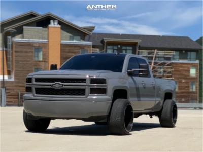 2015 Chevrolet Silverado 1500 - 22x14 -76mm - Anthem Off-Road Equalizer - Leveling Kit - 305/40R22