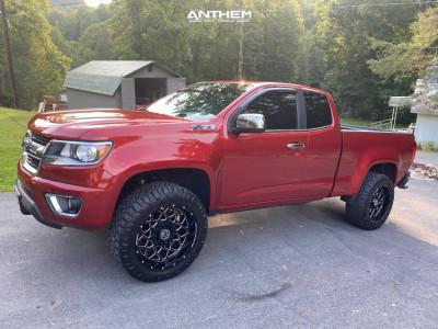 2015 Chevrolet Colorado - 20x10 -18mm - Anthem Off-Road Avenger - Leveling Kit - 285/65R20