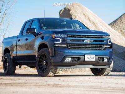 2021 Chevrolet Silverado 1500 - 20x10 -18mm - Anthem Off-Road Liberty - Stock Suspension - 275/65R20
