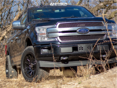 2019 Ford F-150 - 20x10 -18mm - Anthem Off-Road Liberty - Leveling Kit - 255/65R20