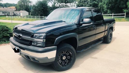 "2005 Chevrolet Silverado 1500 - 18x9 0mm - Anthem Off-Road Enforcer - Leveling Kit - 26"" x 9.5"""