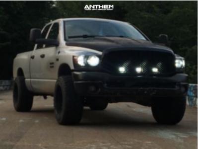 "2008 Dodge Ram 1500 - 20x12 -44mm - Anthem Off-Road Gunner - Leveling Kit - 35"" x 12.5"""