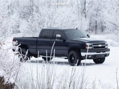 2007 Chevrolet Silverado 2500 HD Classic - 20x10 -24mm - Anthem Off-Road Equalizer - Stock Suspension - 285/55R20