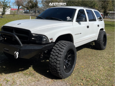 "1998 Dodge Durango - 20x12 -44mm - Anthem Off-Road Liberty - Suspension Lift 3"" - 33"" x 12.5"""