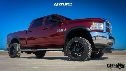 "2017 Ram 2500 - 20x12 -44mm - Anthem Off-Road Equalizer - Leveling Kit - 33"" x 12.5"""