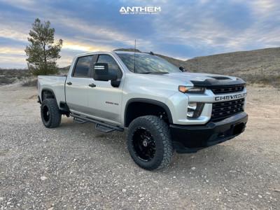 "2020 Chevrolet Silverado 2500 HD - 20x10 -24mm - Anthem Off-Road Equalizer - Suspension Lift 3"" - 35"" x 12.5"""
