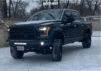 """2016 Ford F-150 - 20x10 -18mm - Anthem Off-Road Avenger - Suspension Lift 4"""" - 33"""" x 12.5"""""""