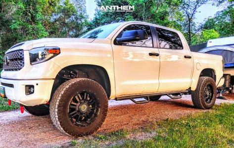 "2018 Toyota Tundra - 20x10 -24mm - Anthem Off-Road Equalizer - Suspension Lift 4"" - 35"" x 12.5"""